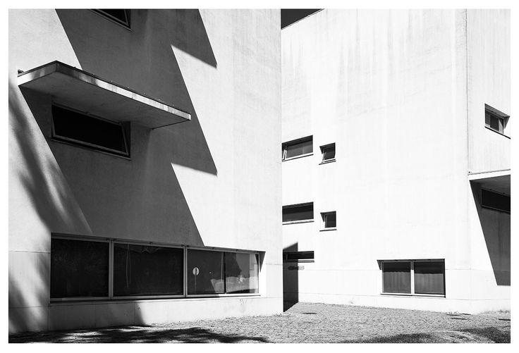 |pt| Geometria.  |eng| Geometry.  © Rui Pedro Bordalo  #architecture #arquitetura #fotografia #photography #siza #sizavieira