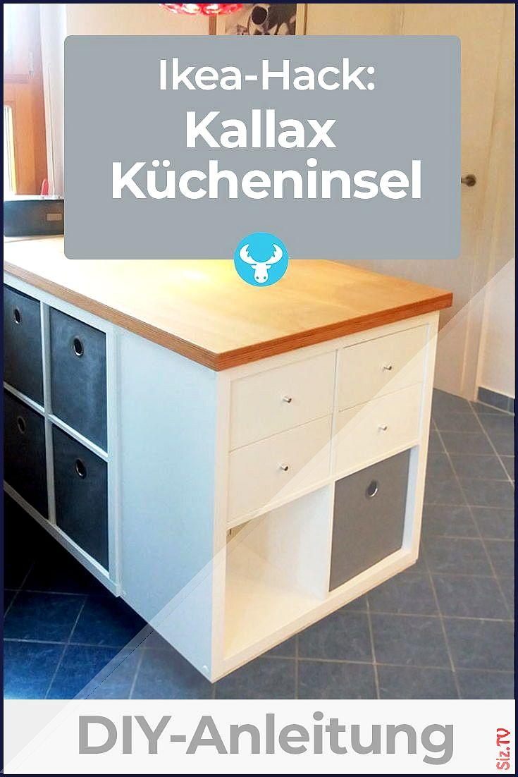 Wie du aus dem Ikea Kallax Regal eine K cheninsel machst ...