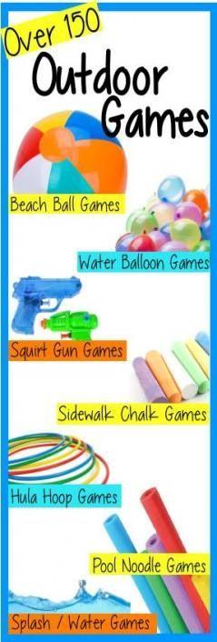 27+ Ideen für Sommerparty-Spiele für Teenager-Mädchen – #games #girls #ideas #party #summer #tee …