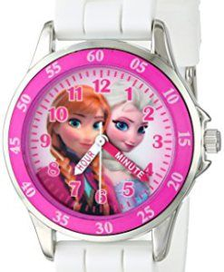 Disney-Kids-FZN3550-Frozen-Anna-and-Elsa-Watch-with-Rubber-Band-0