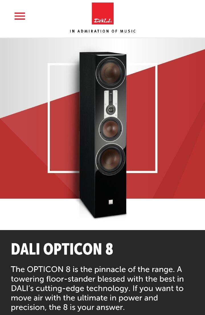 DALI OPTICON 8