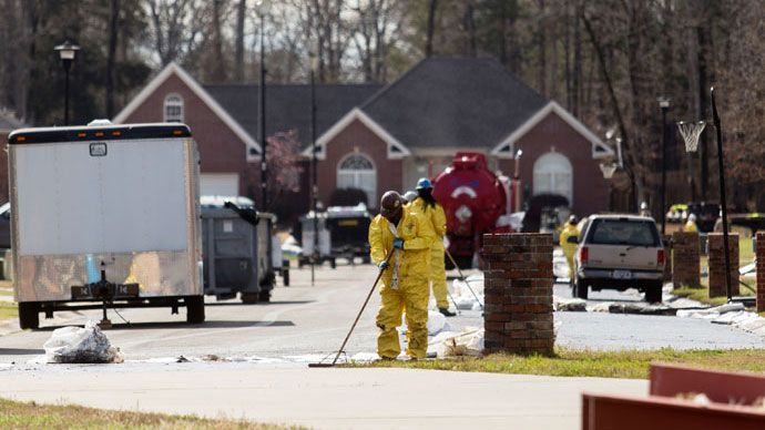 Arkansas oil spill: Exxon reacts to tax 'loophole,' pledges 'to cover all costs' Big Oil treats people as stupid & continually fails to address key issues.