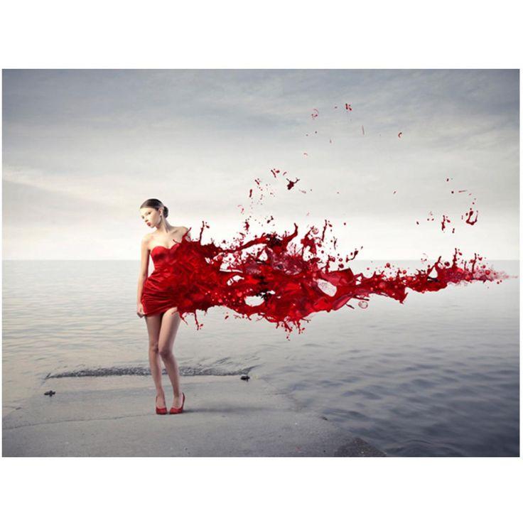 Papier peint Red beauty #papiers #peints #papier #peint #decor #design