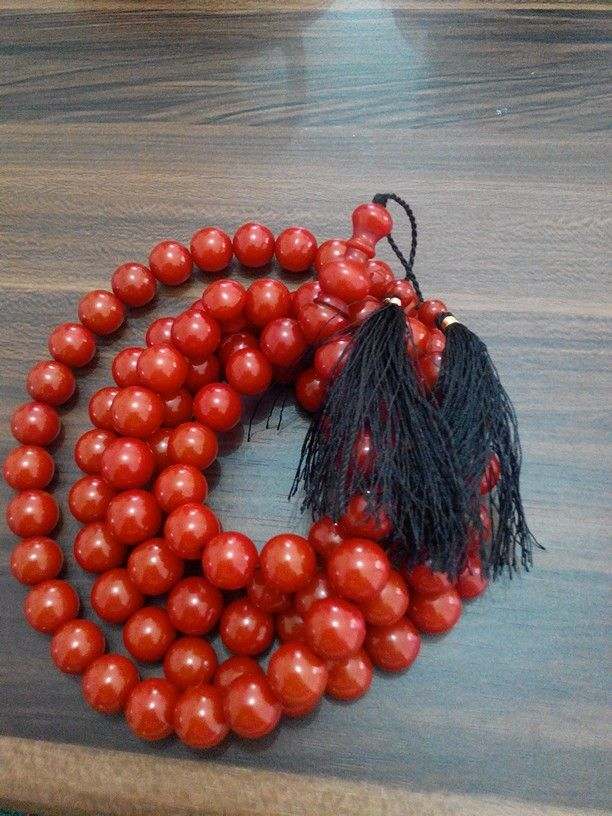 Tasbih pocok (buah gebang) 14mm isi 99. Check www.indonesianhandycraft.com for more info.