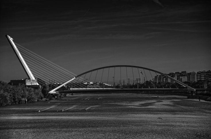 20. Puente del Alamillo, Španielsko
