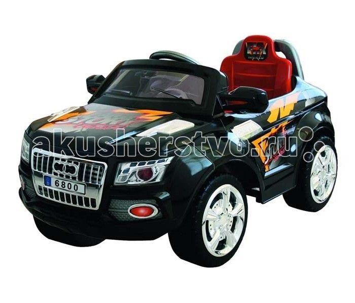 Электромобиль Bambini Super Car (Audos)  Bambini Super Car (Audos) - это яркая, стильная машина для юных автолюбителей.  Плавные линии, выразительные фары необычный дизайн приведут в восторг вашего ребенка.  Данный электромобиль отвечает всем нормам безопасности, он развивает скорость не больше 3-4 км/ч. Ремни безопасности уберегут вашего ребенка от травм.  Очень простое управление: одно нажатие на ножную педаль - автомобиль поехал, как только вы отпустите педаль, машина остановится…