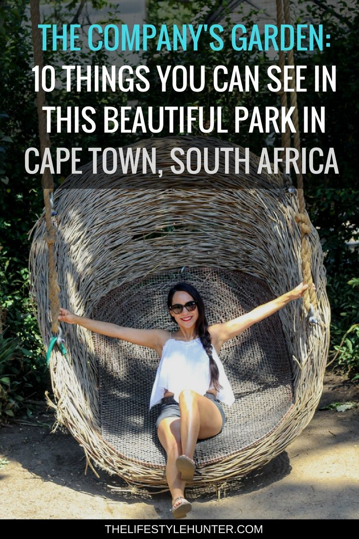 #thelifestylehunter #pilarnoriega #Travel : The Companys Garden, oldest pear tree, rose garden, delville wood memorial garden, aviary, the companys garden restaurant, voc vegetable garden, national library of south africa, rutherford fountain, Cape Town CBD, Cape Town City center, green Market square, berlin wall, cape town club, race classification appeal board, the companys garden, the tunhuys, houses of parliament, slave lodge, city hall, castle of good hope, water project church square…