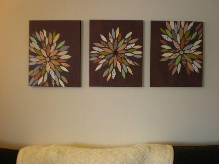 Homemade Canvas Wall Art Ideas