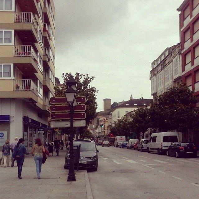 Calle Cardenal en #MonforteDeLemos #Lugo #Spain by @rosaxinzo98 via Instagram