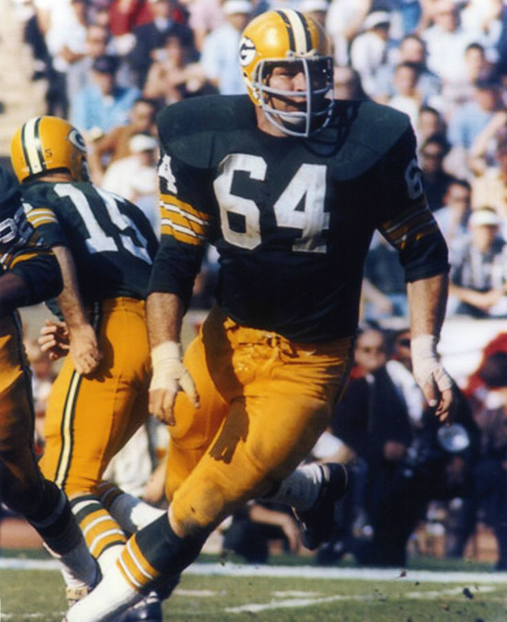 Jerry Kramer Green Bay Packers 1958-68.