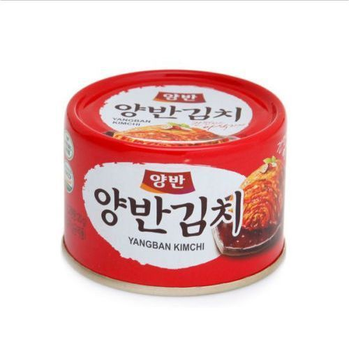 Manufacturer : Dongwon Yangban. Cabbage Kimchi in can 5.6 Ounce Tasteful Kimchi by Yangban. - Origin : Made in Korea ( South Korea ). Best side dished for Ramen, spaceially spicy ramen. Is produced under the HACCP system. | eBay!