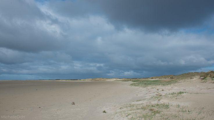 Dark clouds above the GroeneStrand