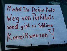 Verrückte Schilder oder Sprüche.... - Garten: Gartenforum.de