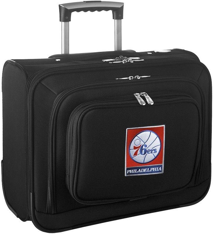 Denco Sports Luggage Philadelphia 76ers 16-in. Laptop Wheeled Business Case