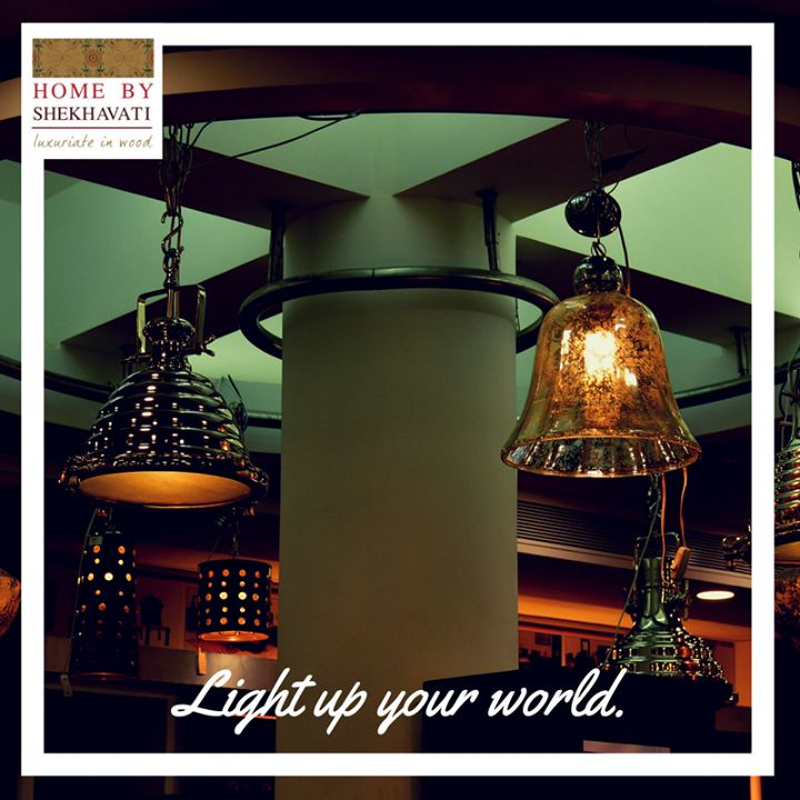 LIGHT UP YOUR WORLD ! A place is dull without proper lighting. Lights give the room a radiance that changes its whole look. Home By Shekhavati provides various beautiful lamps that can illuminate your space and give you out of the world look and feel. These beautiful lamps can be availed by contacting at +91-9414100611