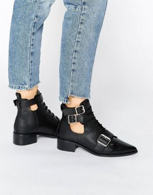 ASOS - ADEN - Bottines à bout pointu
