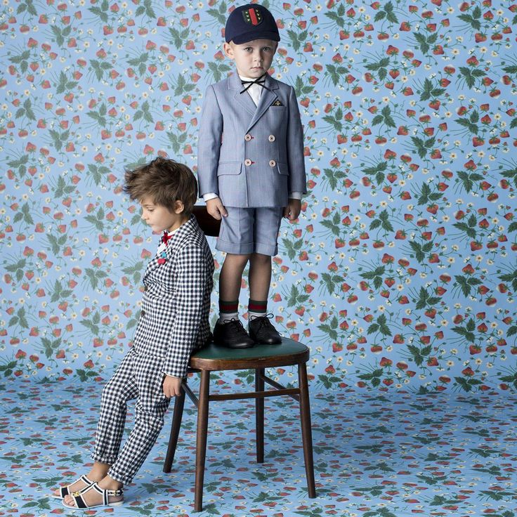 Boyswear Remains Classic With A Twist At Gucci Spring 2016 Kids Collection Kiddo Style