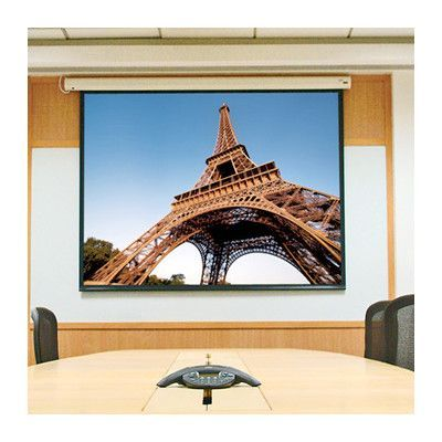 "Draper Baronet White Electric Projection Screen Size/Format: 109"" diagonal / 16:10"