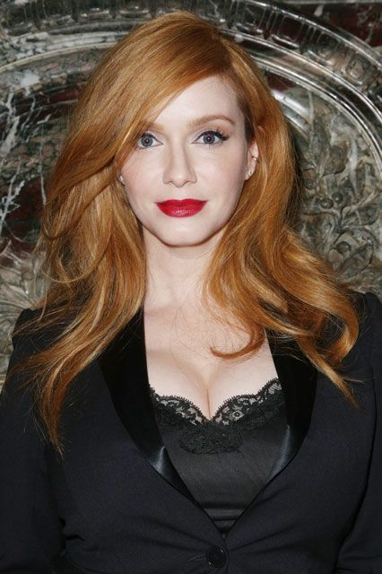 Try to picture Joan from Mad Men without her signature red hair. Pretty hard, right? Well, it turns out Christina Hendricks is a natural blonde (she even has the lawsuit to back it up). #refinery29 http://www.refinery29.com/2015/10/95719/fake-red-haired-celebrities#slide-6