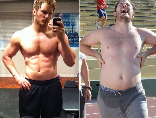 Good, not too difficult meal ideas in this pin. And Chris Pratt's transformation is super motivating (even if you don't have Hollywood trainers to help you)