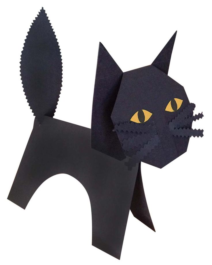 211 best halloween art crafts party activities for for Cat art and craft