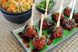 Image result for chicken wings and meatballs platter