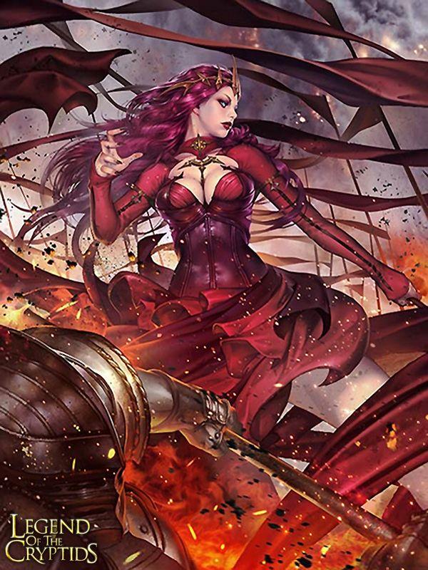 Artist: Hyojin Ahn aka Thefirstcolor - Title: Unknown - Card: Scarlet Legend Kaiserin (Ruination)