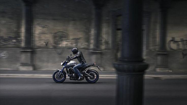 2015 Yamaha MT-09,Race Blu