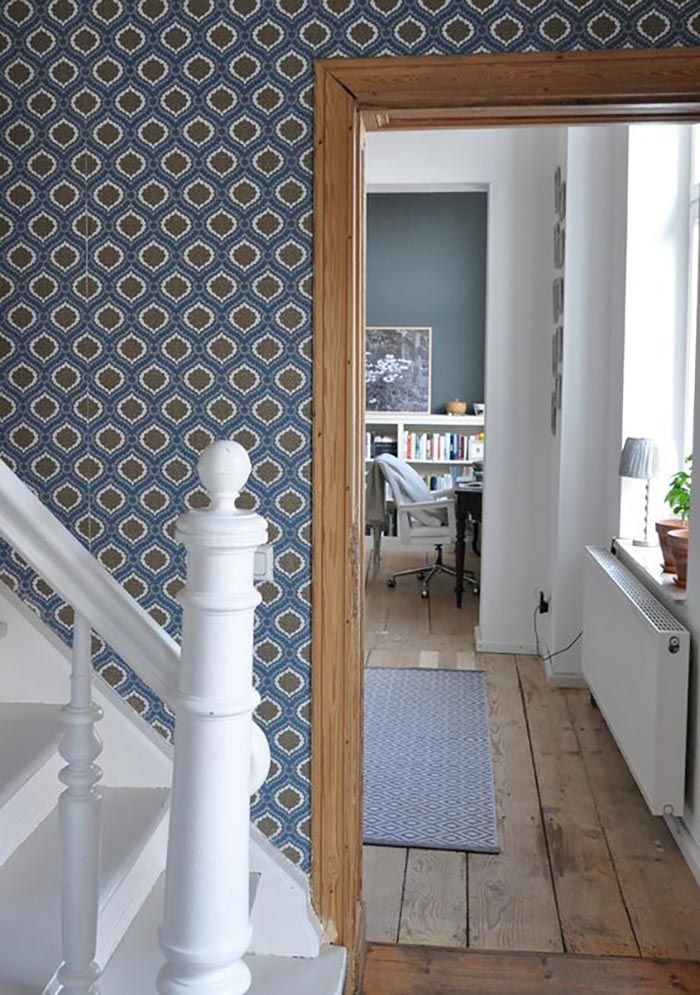Wonderful 20 Homes Where Wallpaper Rules | Design*Sponge