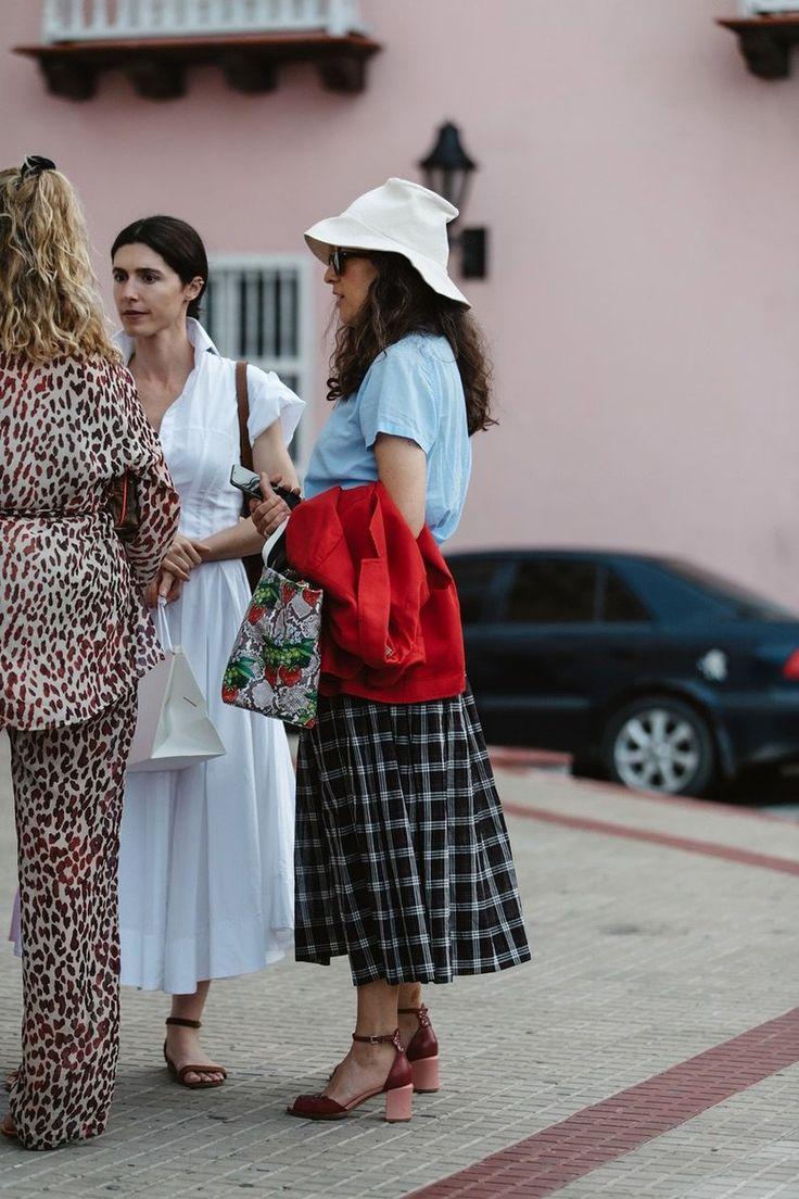 El street style de la latin american fashion summit en