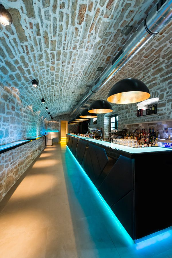 Dejan Hren→YOLO bar - interior and exterior