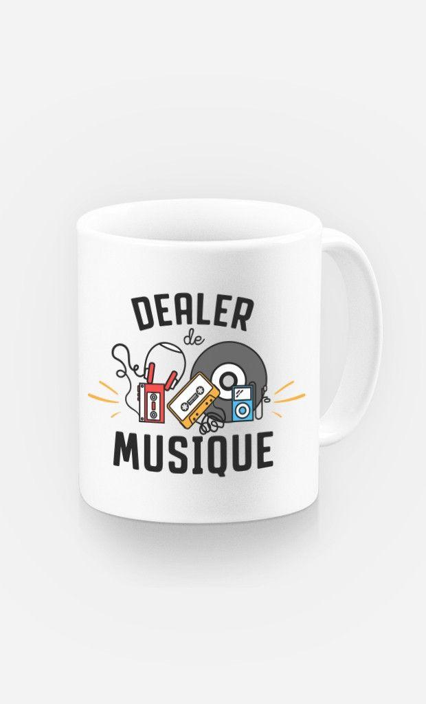 Mug Dealer de Musique de la Collection Capsule en collaboration avec Amir de The…