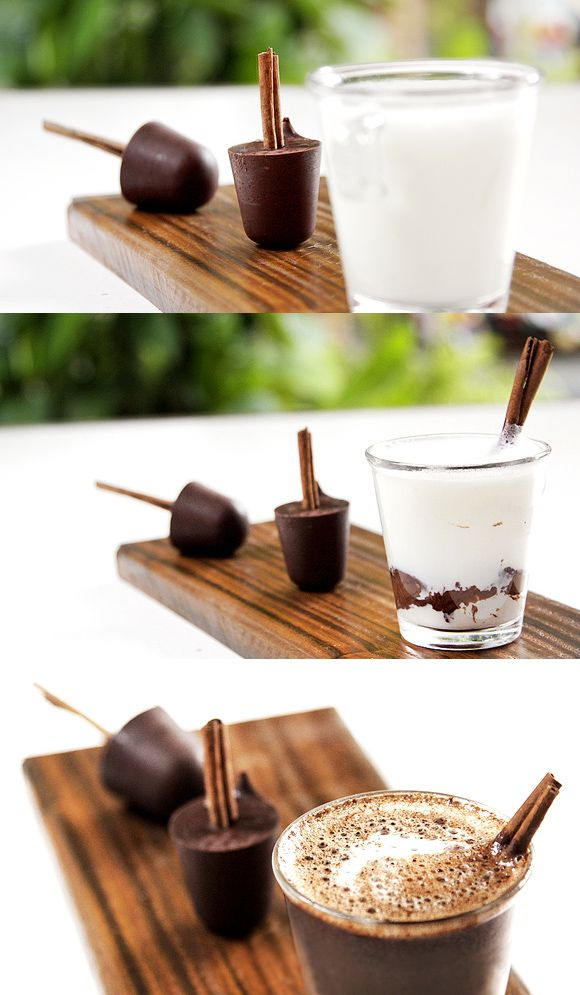 Chocolate quente com canela 09
