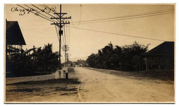 Old Photo of Olongapo City.