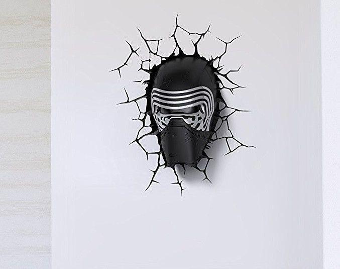 Star Wars: The Force Awakens Kylo Ren Helmet 3D Light