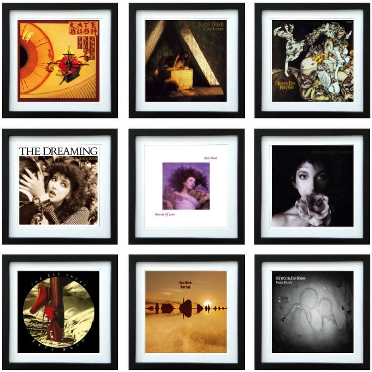Kate Bush | Framed Album Art Collector Series | ArtRockStore