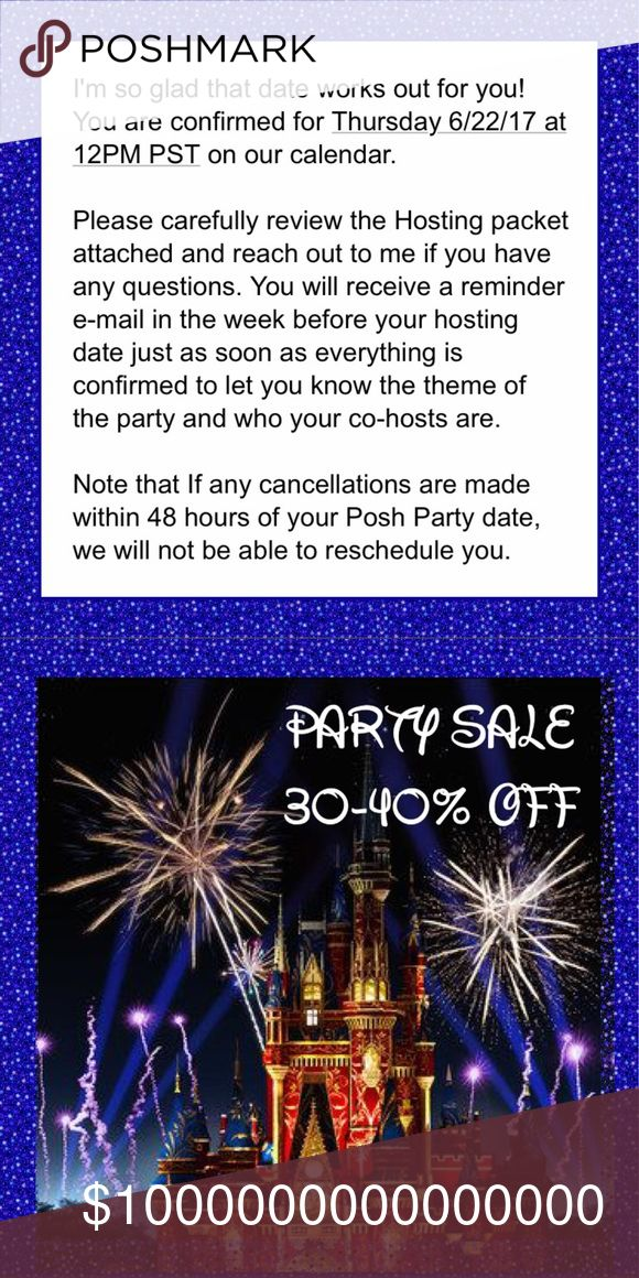 PARTY THEME: JEANS 6/22 3PM EST ✨ So grateful to ALL of you for ALL the Posh ❤ that I'm trying to return asap! Thx to Posh for my 4th Party! You MUST follow ALL Posh rules to be considered. Please only tag yourself/others if you Follow me & your closet is compliant with all rules: https://poshmark.com/faq & https://poshmark.com/posh_guide • 20% donated to American Cancer Society • PARTY SALE: 30% off 1 item, 35% 2-3 items, & 40% off 4+ items... Sale on Full Price Items. You must ask to lower…