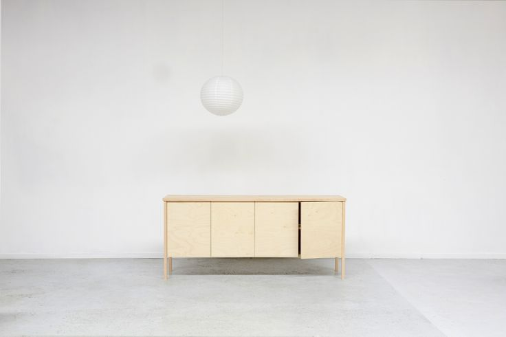 KP sideboard. Birch and maple. James East Design