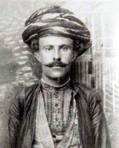 The Kurd Yousef-Khan Rezanejad, one of Mohammad Reza Shah Pahlavi`s Bodyguards.