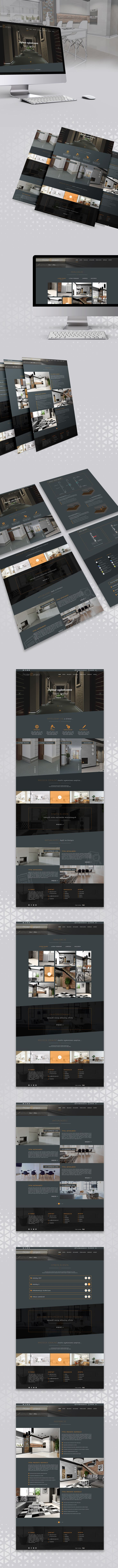 Responsive website for interior finishing company check out more project http://wiwiagency.com/portfolio/