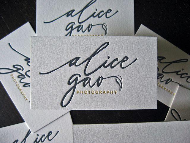 Alica Gao - Letterpress Logo   Flickr - Photo Sharing!