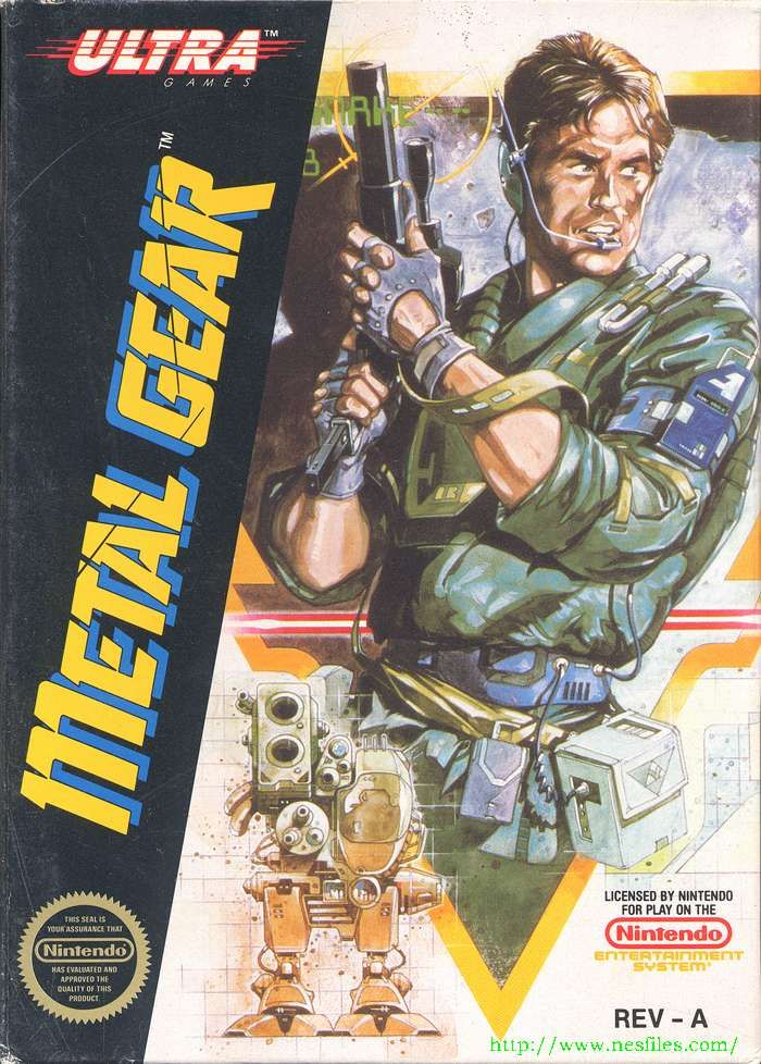 Metal Gear - NES