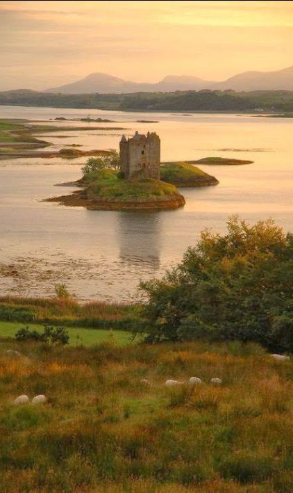 ♕ Stalker Castle, Scotland , from Iryna