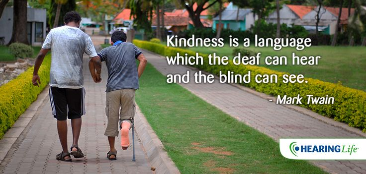 Happy International Humanitarian Day! What act of kindness are you doing to help others today? http://hearinglife.com.au