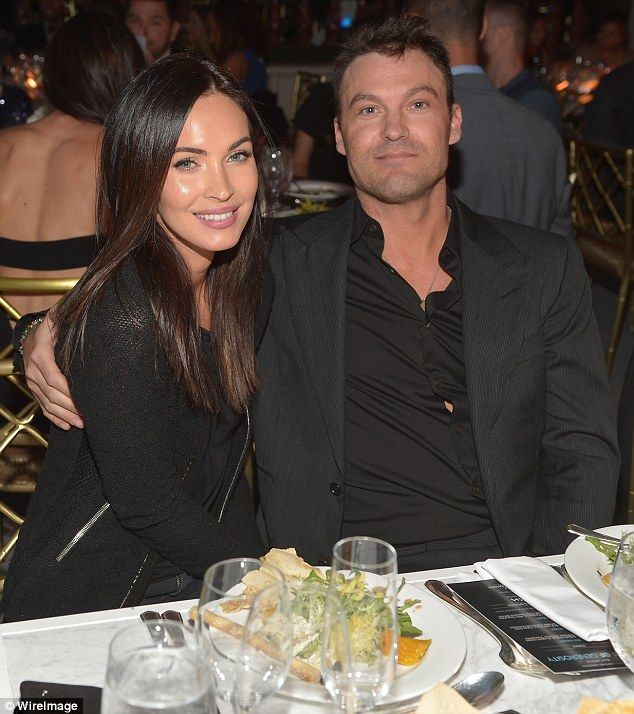 What accident?: Megan Fox and Brian Austin Green looked great at the Night of Generosity Gala in Los Angeles on Friday night, a day after being hit by a drunk driver
