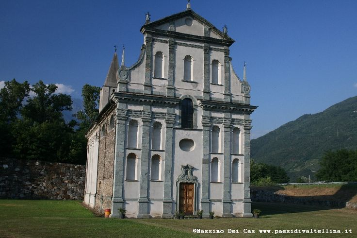 Santuario della Beata Vergine del Piano - Bianzone  #santuario #valtellina