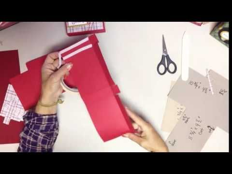Make a quick Self Standing Treat Box