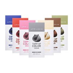 APRIL SKIN - Turn Up Color Cream (7 Colors): Hairdye 60g + Oxidizing Agent 60g + Treatment 10ml. TRY IT NOW! Play with your look, there is no need to be serious about yourself. FREE SHIPPING!