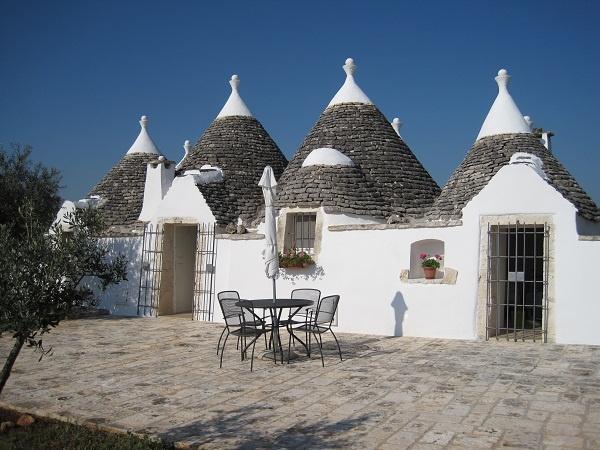 Beautiful traditional Trullo in Puglia, Italy