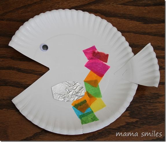 Marcus pfister books and activities construction fish for Rainbow fish activities